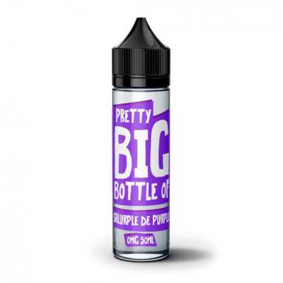 Shlurple De Purple E-Liquid by Pretty Big Bottle 50ml