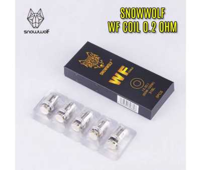 Snowwolf - WF Coils - 0.2 Ohm (60-150W) - Pack of 5